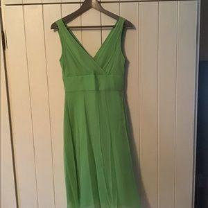 J. Crew Silk Chiffon Dress